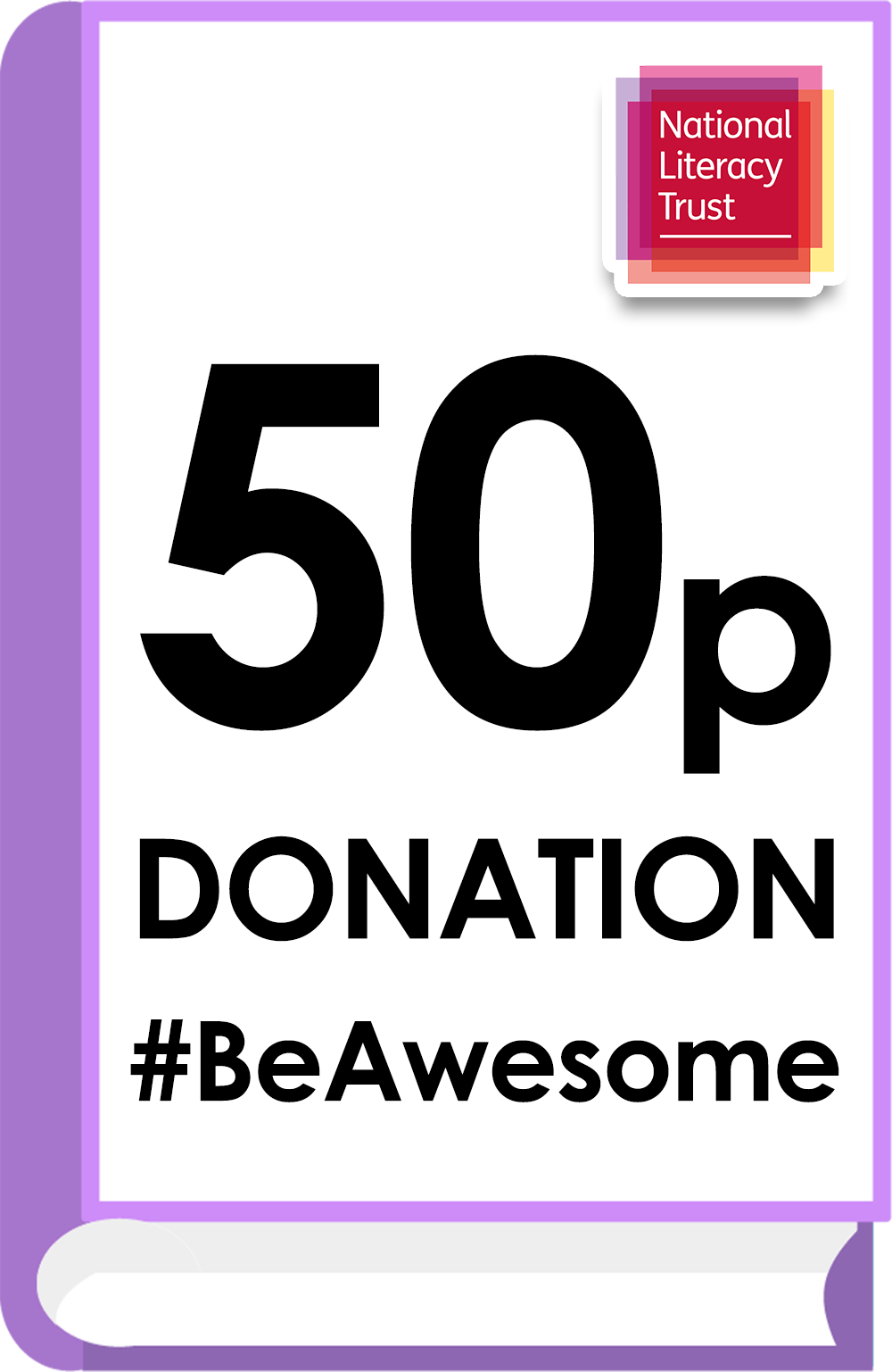 Donate £0.50 Pounds to the National Literacy Trust (Covid Impact Appeal Campaign)