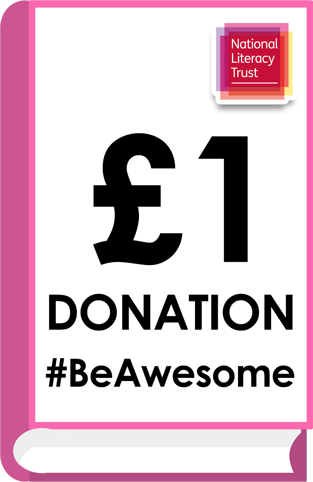 Donate £1.00 Pounds to the National Literacy Trust (Covid Impact Appeal Campaign)