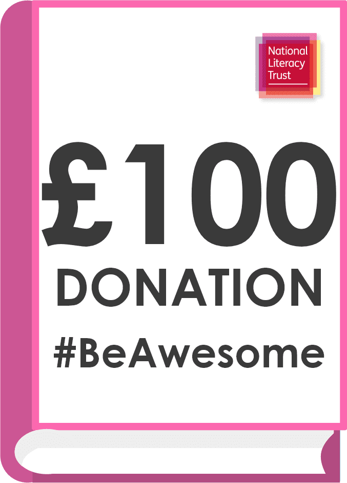 Donate £100.00 Pounds to the National Literacy Trust (Covid Impact Appeal Campaign)
