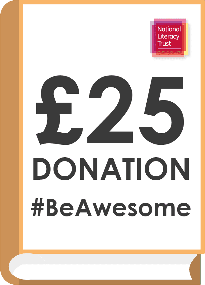 Donate £25.00 Pounds to the National Literacy Trust (Covid Impact Appeal Campaign)