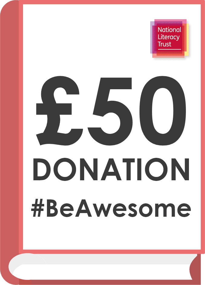 Donate £50.00 Pounds to the National Literacy Trust (Covid Impact Appeal Campaign)